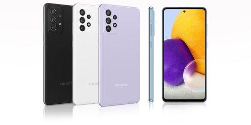 Samsung Galaxy A72 / fot. Samsung via RTV Euro AGD