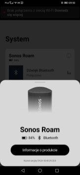 Sonos Roam po sparowaniu Bluetooth (3)