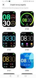 Tarcze zegarka w aplikacji (3)