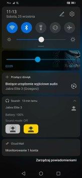 Aplikacja Jabra Sound+