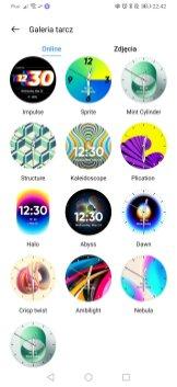 realme Watch S Pro przykladowe tarcze w aplikacji (3)