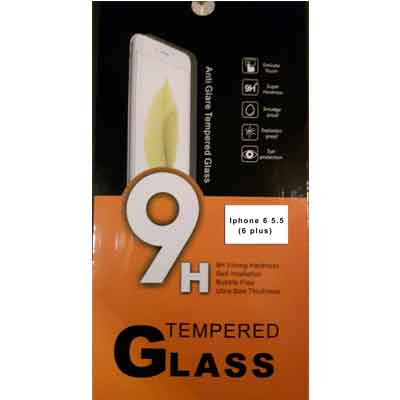 iPhone 6 plus 5.5 tempered glass - glazen screenprotector 9H 2.5D 0,3 mm