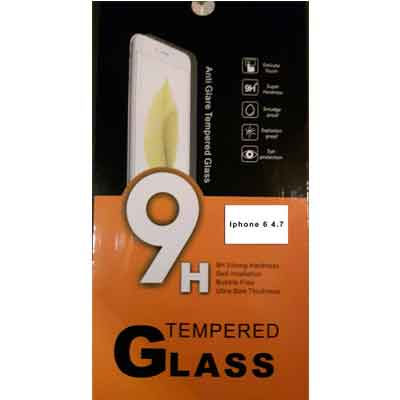 iPhone 6 4,7 tempered glass - glazen screenprotector 9H 2.5D 0,3 mm