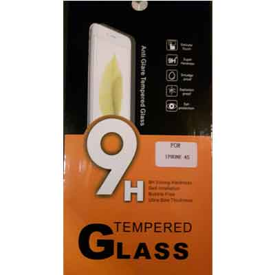 iPhone 4s tempered glass - glazen screenprotector 9H 2.5D 0,3 mm