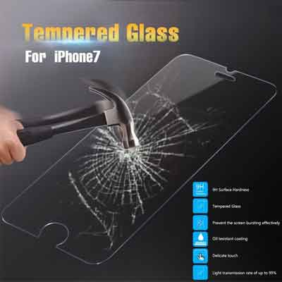 IPhone 7 glazen Screen protector 2.5D 9H - Tempered Glass 2.5D 9H (0.3mm)