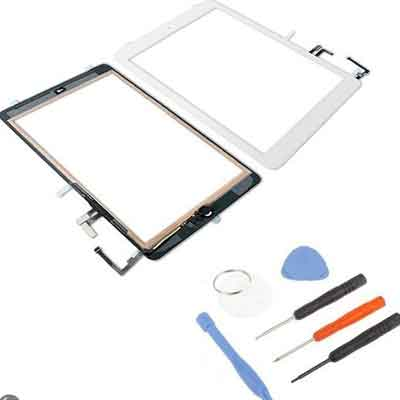 Pad Air scherm digitizer touchscreen wit