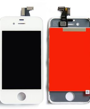 Lcd scherm iPhone 4 wit