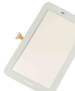 Touchscreen voor Samsung Galaxy Tablet Plus 7.0 - P6200 - wit