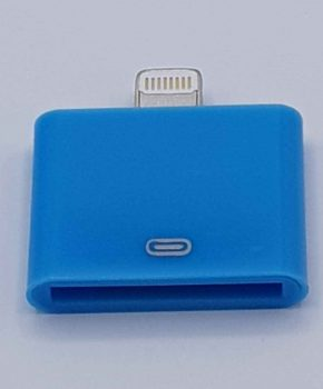 30 Pin Naar Lightning compatible (8 Pin) Kabel Adapter - Voor Ipad / iPhone - Blauw