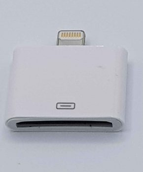30 Pin Naar 8 Pin Kabel Adapter - Voor Ipad / iPhone - Wit
