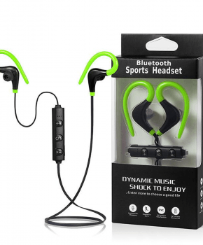 Sport Bluetooth In-Ear headset - groen - true stereo