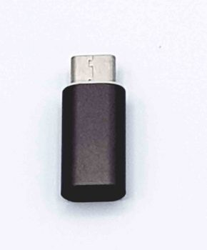 8 Pin Female naar Type C Male USB Adapter - Bruin