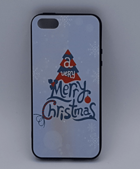 iPhone 5 hoesje - kerst - a very Merry Christmas