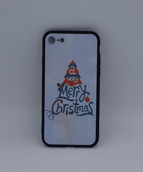 iPhone 6 / 6S  hoesje - kerst - a very Merry Christmas - wit