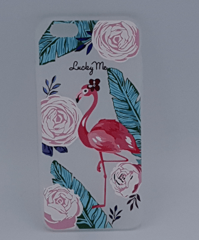 iPhone 6 / 6S hoesje  - flamingo - lucky me