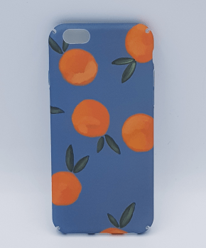 iPhone 6 / 6S hoesje  - Oranges on blue