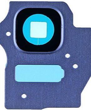 Camera Lens Cover - Coral Blue -  inclusief lens voor de Samsung Galaxy S8 + (Plus)