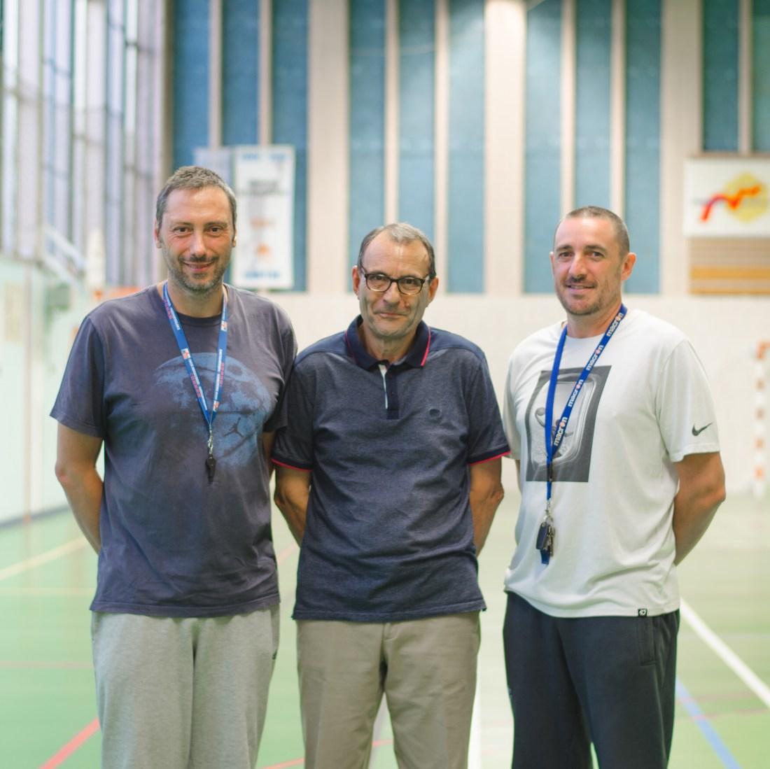 Philippe, Bernard et Fabien