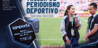 taller de Periodismo Deportivo Avanzado.