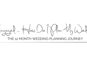 12 month wedding planning checklist. How to plan your wedding in one year with a list of tasks to complete and when. Free printable and download.