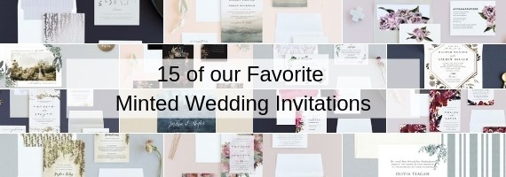 15 of our Favorite Minted Wedding Invitations