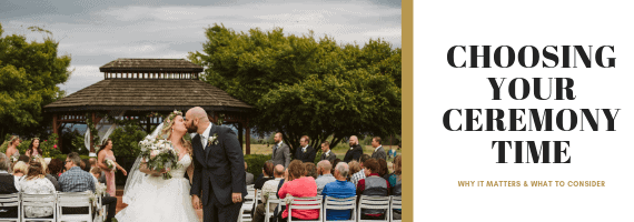 CHOOSING YOUR CEREMONY TIME by GSquared Weddings Photography