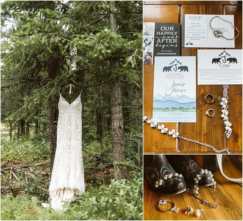 Great Bear Inn & Fish Creek | Glacier National Park Wedding