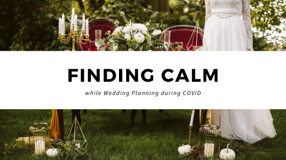 finding calm covid wedding by GSquared Weddings Photography