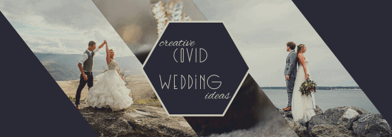 covid wedding by GSquared Weddings Photography