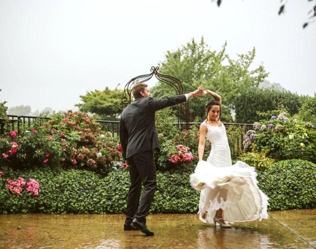Hidden Meadows Bride and Groom Dancing