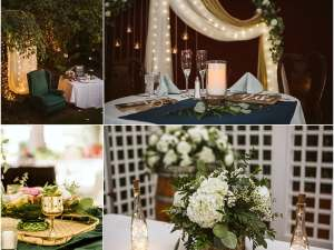 WEDDING RECEPTION DECOR INSPIRATION