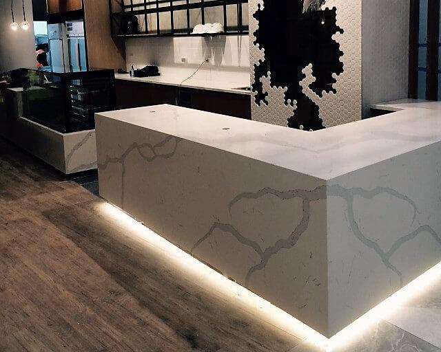 best quartz countertops calacatta vene