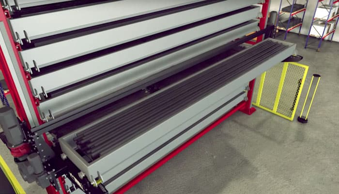 VIDIR Vertical Storage Systems  Gulf States Saw  Machine Co