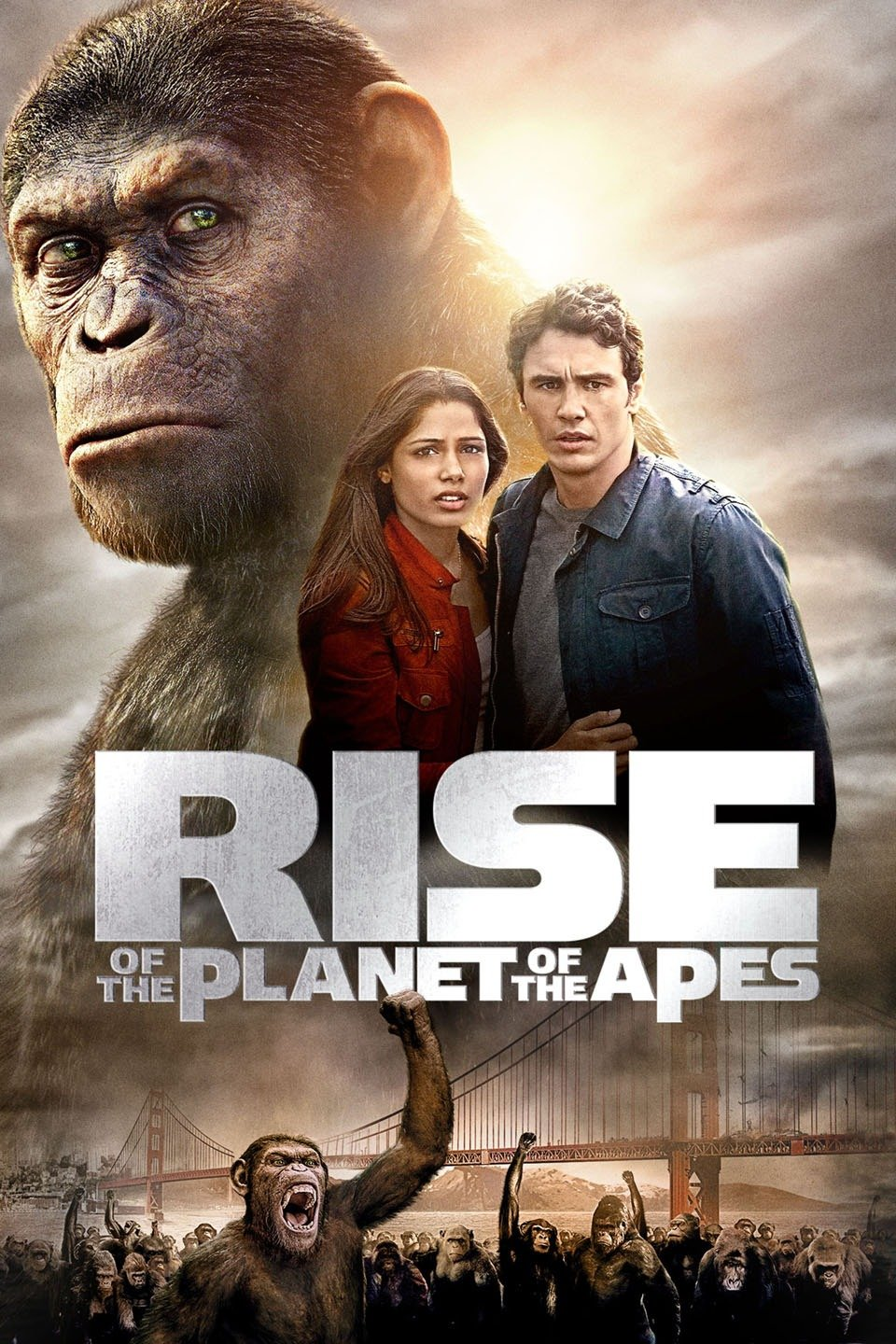 Download Rise of the Planet of the Apes 2011 {Hindi-English} 480p | 720p [900MB] | 1080p [1.8GB]