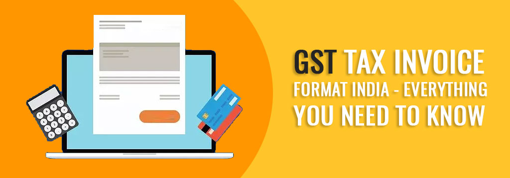 GST Tax Invoice Format India