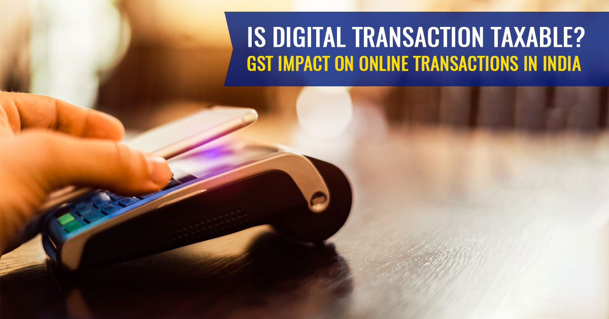 GST Impact on Online Transactions