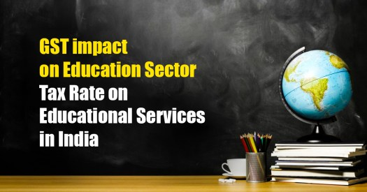 GST Impact on Education Sector