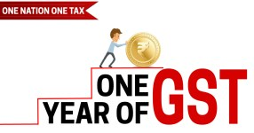 One Year of GST in India