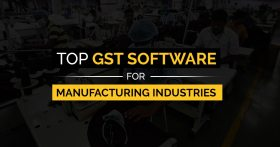 GST Software for Manufacturing Industries