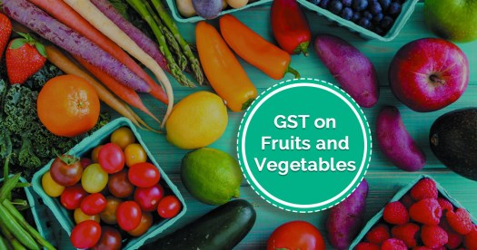 GST on Fruits and Vegetables