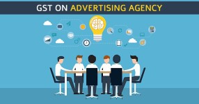 GST on Advertising Services Agency