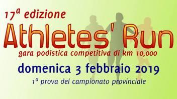 Athletes' Run 2019 - 17^ edizione