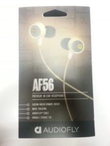 Audiofly AF56 Headphones - Packaging - Analie Cruz - @YummyANA
