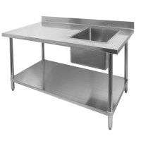 Stainless Steel Prep Tables - GSW