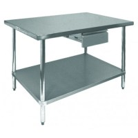 Stainless Steel Economy Table Drawer - GSW