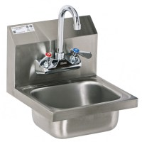 Stainless Steel Wall Mount Hand Sink with No Lead Faucet ...