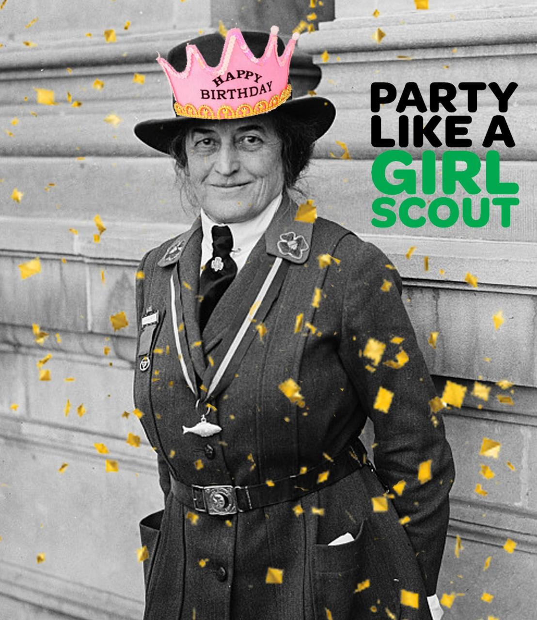 Celebrate Juliette Gordon Low's Birthday Like A Girl Scout!
