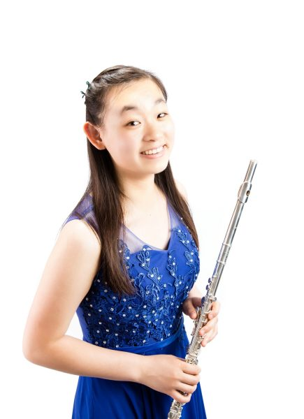 flute soloist Phoebe Lin