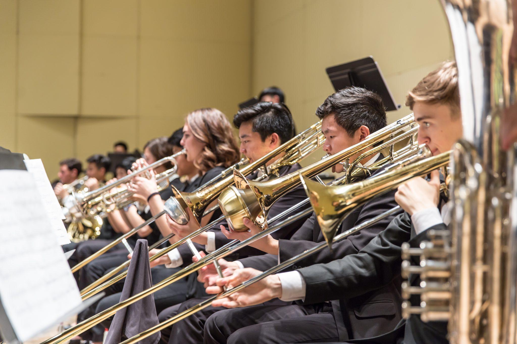 Symphony brass section