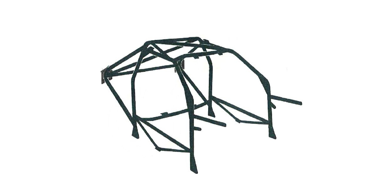 OMP Rollcage Multipoint Structure Nissan Sunny 2.0 4WD GTI